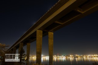 Beneath the Tay Road Bridge