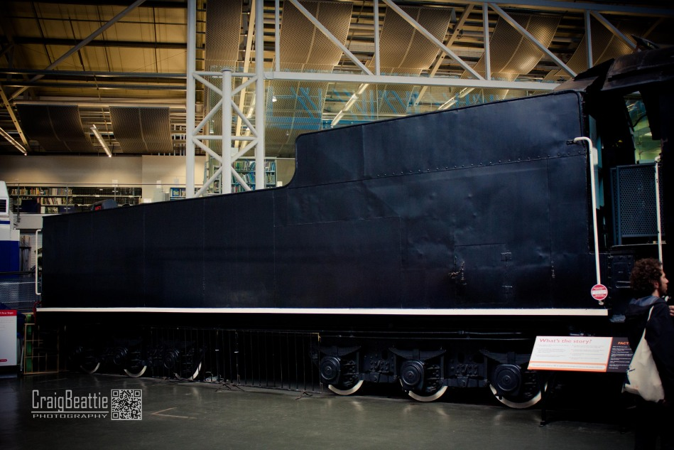 Even the tender is big
