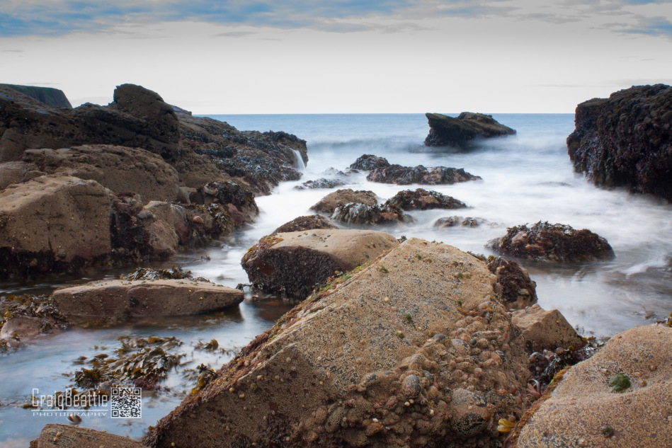 With it being so light I was struggling to get long exposures till the light faded