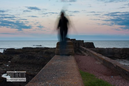 Ghost of Auchmithie Harbour